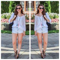 Diesen Sommer-Look von Johanna finden wir echt klasse! ❤    Hier findet diesen Look @ www.mycolloseum.com