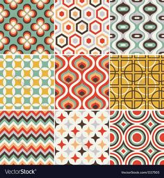 retro seamless pattern. Download a Free Preview or High Quality Adobe Illustrator Ai, EPS, PDF and High Resolution JPEG versions.
