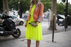 Paris Haute Couture Autumn / Winter 2013.Street Style.