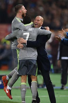 UEFA Champions League. Roma v. Real Madrid 0-2 17/02/16 #cr7 #sr4 #zidane #halamadrid