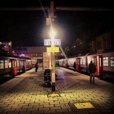 Gare de Louvain-la-Neuve Université, Louvain-la-Neuve - My train station when I lived in Belgium :)
