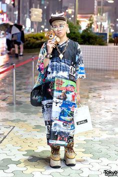 DVMVGE Men's Fashion in Harajuku