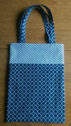 Hey, I found this really awesome Etsy listing at https://www.etsy.com/listing/244320435/library-tote-bag-navy-and-white