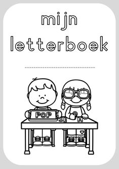 letterboek 26 Letters, Pre Writing, Kids Education, Spelling, Homeschool, Parenting, Teaching, Comics, Store