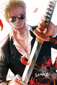 Zoro Roronoa // One piece // Anime // Art