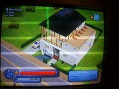 my sims 3 house with underground garage (on xbox 360)
