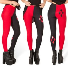 2015-New-Sexy-Fashion-Womens-Stretch-Harley-Quinn-Leggings-Pants-Trousers-Hot