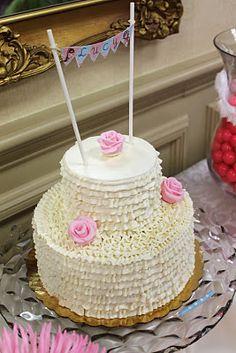 ruffle cake @Molly Tatro