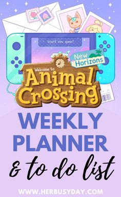 I am super obsessed with the new Animal Crossing game. So obsessed, in fact, that I have designed my own weekly planner inspired by it! Pink Animals, Felt Animals, Animal Crossing Guide, Weekly Planner, Planner Ideas, Bullet Journal Ideas Pages, School Readiness, Animal Birthday, Needle Felted Animals