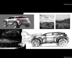 Bocetos de una evolución. #Aircross #ConceptCar #Citroën