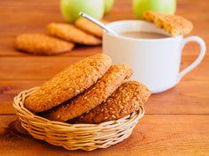 Receta de Receta de galletas de avena sin azúcar