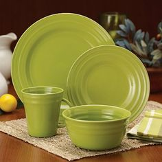 Rachael Ray -Dinnerware, Double Ridge 4-Piece Cereal Bowl Set, Brown ...