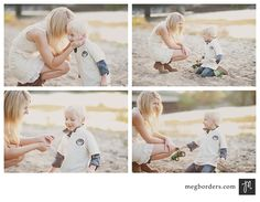 Gorgeous mum and son shoot by Meg Borders