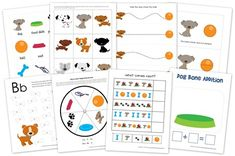 Dog Preschool Pack