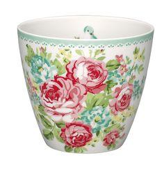 GreenGate Latte Cup June white