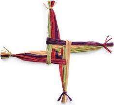 st Bridgid's cross craft | St. Brigid's Cross craft project | Team Catholic