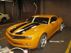 """Bumblebee - 2006 Camaro Concept Car from the """"Transformers"""" live-action movie Chevy Camaro, 2013 Chevrolet Camaro, Camaro Concept, Concept Cars, My Dream Car, Dream Cars, Auto Gif, Transformers Cars, Classic Cars"""