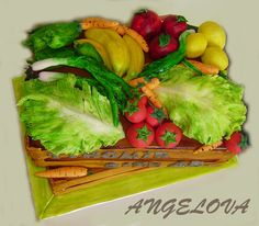 Produce cake by Angelova