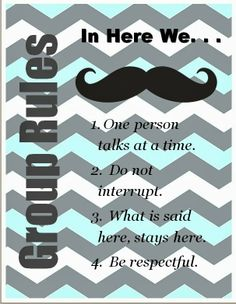 """The Middle School Counselor: I """"Mustache"""" You The Rules And A Few Questions Best Picture For Boy Group party For Your Taste You are looking for something, and it is going to tell you exactly what you Counseling Office, Elementary Counseling, Group Counseling, Counseling Activities, Elementary Schools, Feelings Activities, Group Activities, Middle School Counselor, Future School"""