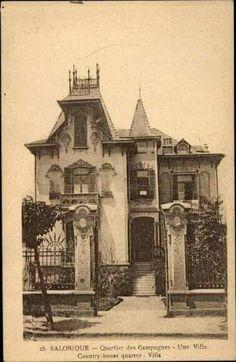 Old Greek, Thessaloniki, Macedonia, Istanbul, Greece, Nostalgia, Mansions, Black And White, Architecture