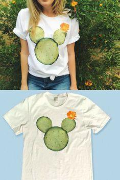 Mickey Mouse Cactus Shirt #MickeyMouse #Disney #Disneyland #WaltDisney #WaltDisneyWorld #DisneyShirt #DisneyDay #Ad #Cactus