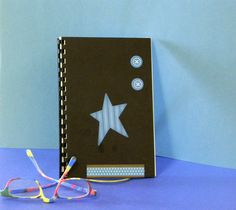 Login and password book for internet site with a star by GunnySack, $10.00