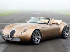 Wiesmann Roadster MF5 2011  This car, my husband, myself, and an empty calendar, exploring the Pacific Coast Highway.