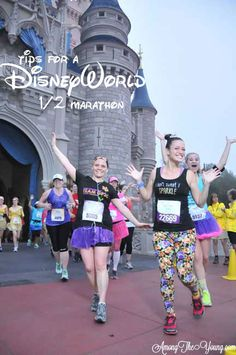 Among the Young: Tips for a DisneyWorld Half Marathon