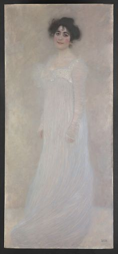 Decorative Art. Serena Pulitzer Lederer (1867-1943) Gustav Klimt ( Austrian, Baumgarten 1862-1918 Vienna). Klimt painted this portrait of the wife of Viennese industrialist August Lederer in 1899, two years after founding the Vienna Secession to reform art in the Austrian capital and raise it to a level of international importance. The painting was shown in the tenth Secession exhibition in 1901.