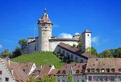 Kastell Munot - Incredible architecture. My favorite place in Schaffhausen, Switzerland