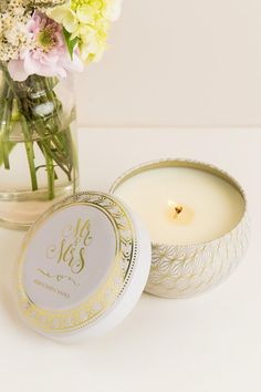 I love candles, and a wedding themed candle is even better!