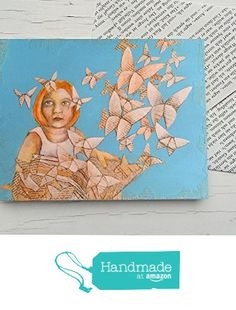 Literary card, gift card for bookworms, Origami butterflies, girl reading, book, butterfly, book pages, gift card for girls, reading, for book lovers from Atelier Dorothea Koch https://www.amazon.co.uk/dp/B01MQJW7B9/ref=hnd_sw_r_pi_dp_gNQlybTQHZ741 #handmadeatamazon