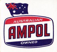 Ampol logo - Proud Australian Owned AMPOL .Google Search.  v@e.