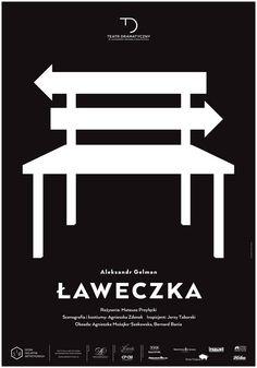"""""""Ławeczka"""" Aleksandr Gelman, reżyseria: Mateusz Przyłęcki, premiera: 13 lutego 2015 r., więcej informacji: http://dramatyczny.pl/spektakl/laweczka/"""