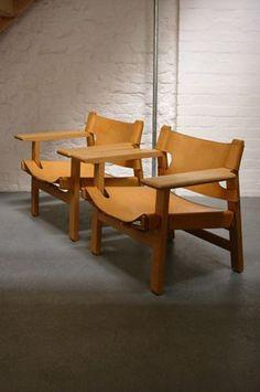 Borge Mogensen Spanish Chairs