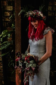 Alternative Rock Wedding Inspiration With Tattooed Bride and Bespoke Wedding Dress    Creative Wedding Blogs, Wedding Inspiration and Ideas  by Magpie Wedding  #bridal #bridetobe #wedding #vintage #boho #luxury #blog #styling #rockwedding #alternativewedding #alternativecouple #eclecticwedding #tattooedbride