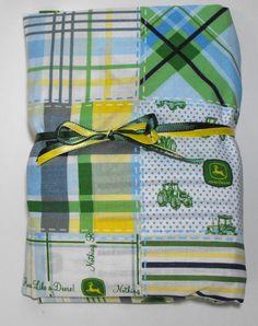 John Deere Fitted Crib Sheet or Toddler Bed Sheet by KidsSheets, $19.99