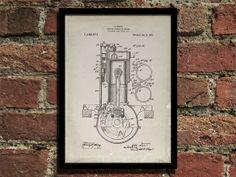 Internal Combustion Engine Patent art, $10.00