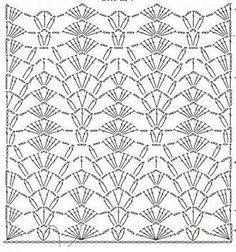 10 Dazzling Crochet a Bodycon Dress Top Ideas Crochet Stitches Chart, Knitting Stiches, Crochet Motifs, Crochet Diagram, Crochet Squares, Thread Crochet, Filet Crochet, Crochet Lace, Crochet Patterns