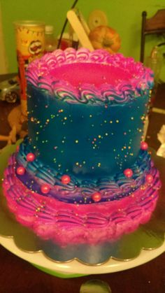 Two tier small cake