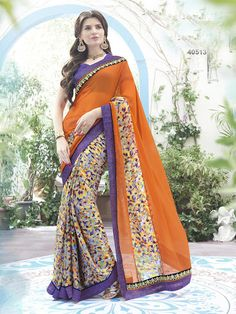 #VYOMINI - #FashionForTheBeautifulIndianGirl #MakeInIndia #OnlineShopping #Discounts #Women #Style #EthnicWear #OOTD #Saree Only Rs 1372/, get Rs 291/ #CashBack,  ☎+91-9810188757 / +91-9811438585