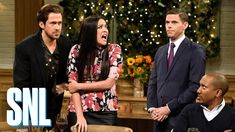 Ryan Gosling lost it and just laughed during an 'SNL' sketch about Pizza Hut - NETSKYDE Eat Pizza, Pizza Hut, Snl Sketches, Snl Saturday Night Live, Everything Funny, Feel Good Videos, I Give Up, Ryan Gosling