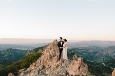 Malibu Wedding In the Clouds Photographed by Annie McElwain Snippet & Ink