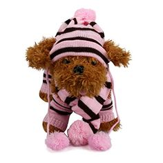 Pet Others,Elevin(TM)6Pc/Set Dog Pet Puppy Winter Warm Hats Scarf Leg Warmer Pet Clothes Set (XS, Pink) -- You can get additional details at the image link. We are a participant in the Amazon Services LLC Associates Program, an affiliate advertising program designed to provide a means for us to earn fees by linking to Amazon.com and affiliated sites.