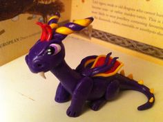 Purple Dragon by Dragonsandthings on Etsy, £13.00