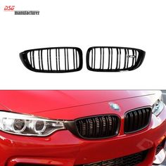 3 series f30 m3 style abs material dual slat front kidney grille 5613 buy here httpaligwxwellsgopt32597595275 4 series f32 f33 front abs grill for bmw f36 f80 m3 f82 f83 m4 2 door coupe convertible fandeluxe Images