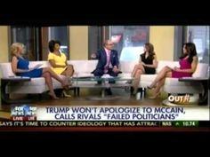 Fox Host Blames John McCain For Trump's Inflammatory Comments