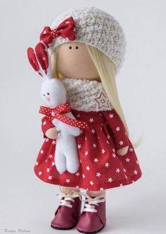 Pretty Dolls, Cute Dolls, Beautiful Dolls, Doll Toys, Baby Dolls, Waldorf Dolls, Soft Dolls, Diy Doll, Fabric Dolls