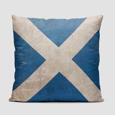 Scottish Flag - Throw Pillow