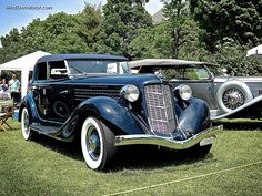 This beautiful Auburn 851 SC Phaeton was at the recent 2013 Greenwich Concours d'Elegance. The 851 came about when Cord, who owned Auburn at the time, was looking to make an effective car fo… Auburn, Antique Cars, Passion, American, Motors, Cars, Vintage Cars, Auburn Brown
